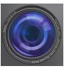 camera lens graphic